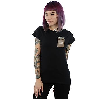 Star Wars kvinder ' s den Mandalorian dyrebare Cargo faux Pocket T-shirt