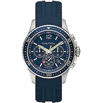 Nautica Chronograph quartz men's Watch with Silicone Strap NAPFRB009