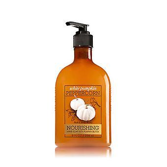 Baie & corp works alb dovleac săpun de mână cu unt de dovleac 8 oz/236 ml (2 lot)