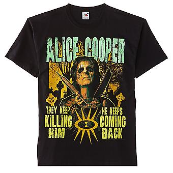 Alice Cooper Graveyard T-Shirt Oficial