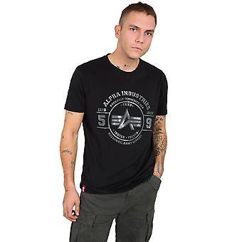 Alpha Industries férfi T-shirt hiteles Vinyl