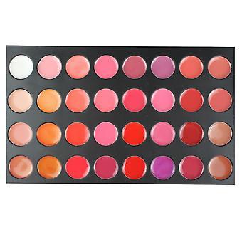 Lipgloss profesjonell palett 32 farger