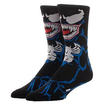 Crew Sock - Marvel - Venom 360 New cr64hgmvl