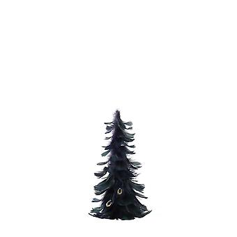 Light & Living Ornament 17x32cm Tree Dark Green