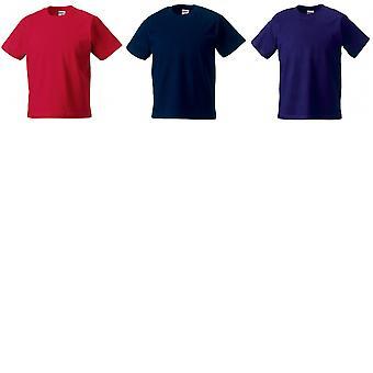 Jerzees Schoolgear Childrens Classic Plain T-Shirt (Pack of 2)