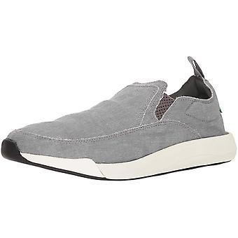 Sanuk Men's Chiba Quest Sneaker, Grey, 09 M US