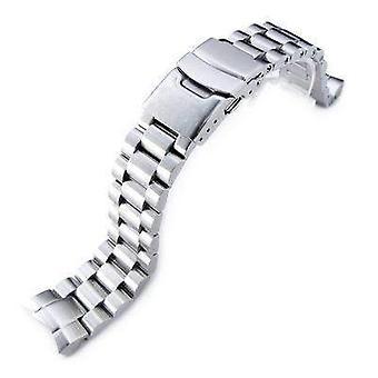 Strapcode pulseira de relógio 20mm endmill banda de relógio para seiko sumo sbdc001, sbdc003, sbdc005, sbdc031, sbdc033