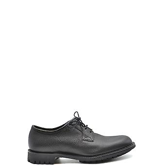 Church's Ezbc004085 Men's Black Leather Lace-up Shoes