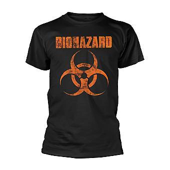 Biohazard Logo Official Tee T-Shirt Mens Unisex