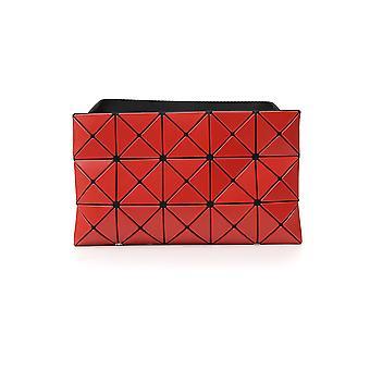 Bao Bao Issey Miyake Bb98ag67732 Women's Red Polyurethane Clutch