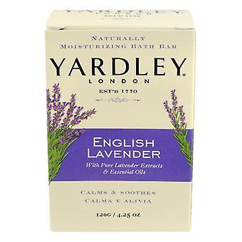 Yardley Londyn bar soap, angielski lavender, 4,25 oz