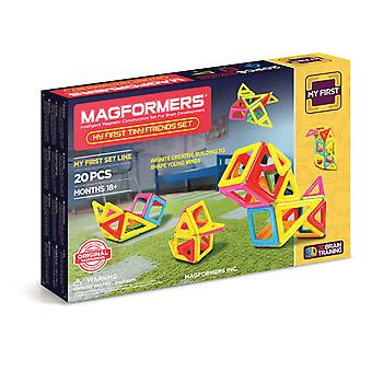 Magformers My First Tiny Friends 20PC Magnetic Construction Set STEM Toy Ages 18