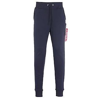 Alpha Industries X-Fit Slim Cargo Navy Spår Byxor