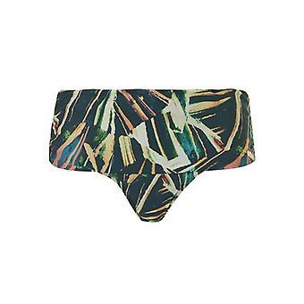 TC WoW - Palm Leaves Flipover Bikini Letter - Multicolored