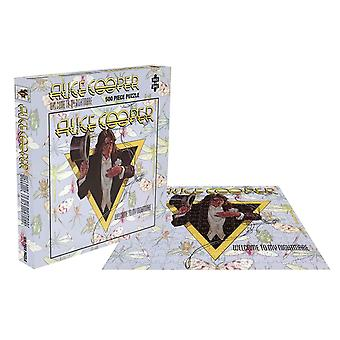 Alice Cooper Jigsaw Puzzle Welcome To My Nightmare Album Official 500 Piece