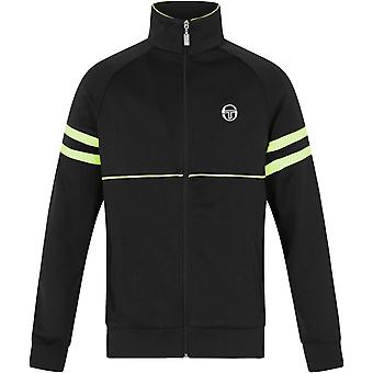 Sergio Tacchini Orion Zip Front Track Top Black 59