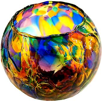 Friendship Night Light Tealight Holder - Multi by Milford Collection