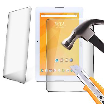 LG G Pad 10.1 Tempered Glass LCD Screen Protector Guard for 10.1 inch Tablet by i-Tronixs-Clear ( Pack of 2)