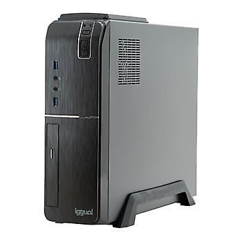 Stasjonær PC iggual PSIPC352 i5-9400 8 GB RAM 240 GB SSD W10 Svart