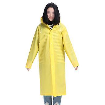 Rain Coat Waterproof EVA Rain Poncho for Men Women Adults