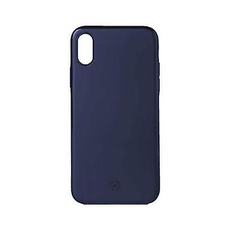 Celly Magnetic Ghost Backcover Hoesje iPhone XS / X - Donkerblauw