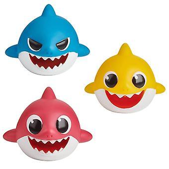 Baby Shark - 3x Bath Toys