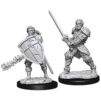 D&D Nolzur's Marvelous Unaplicted Minis Male Human Fighter