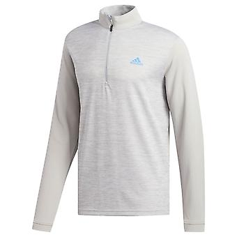 adidas Golf Mens Núcleo 1/4 Zip Layer Long Sleeve Sweater