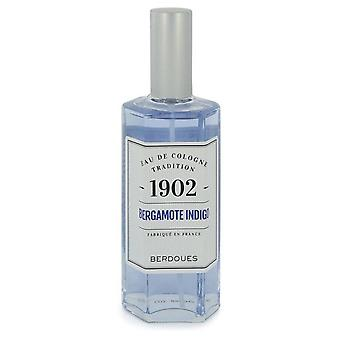 1902 bergamote indigo eau de cologne spray by berdoues 542584 125 ml