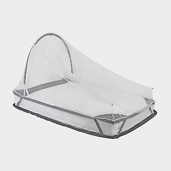New Lifesystems Freestanding Single Bed Mosquito Net Natural