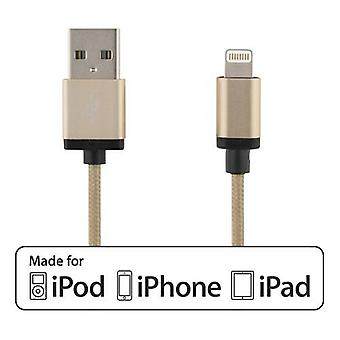 USB sync / charger cable for iPod, iPhone and iPad 1m