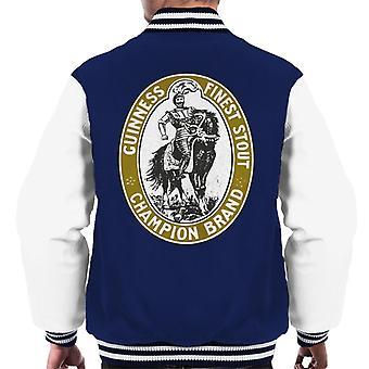 Guinness Finest Stout Men's Varsity Jacket