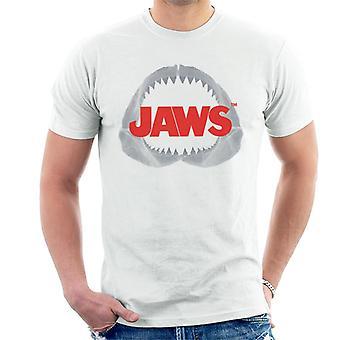 Jaws Teeth Logo Men's T-Shirt