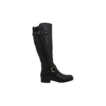 Naturalizer Womens Jillian Black Knee High Boots 5 M