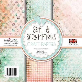 Polkadoodles Zacht & Heerlijk 6x6 Inch Paper Pack