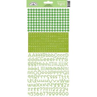 落書きバグデザインのライムド十代の10代タイプのステッカー