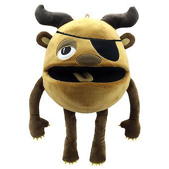 O fantoche do fantoche empresa - monstros de bebê - marrom