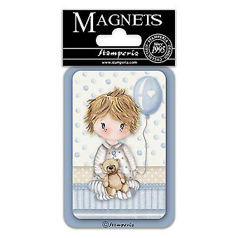 Stamperia Baby Boy Ballong 8x5.5cm Magnet