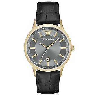 Emporio Armani AR11049 Classic Grey Dial Men's Horloge