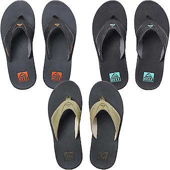Reef Mens Fanning Summer Slip On Beach Pool Holiday Flip Flops Sandálias