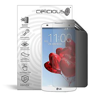 Celicious Privacy 2-weg Antispion filteren Screen Protector Film compatibel met LG G Pro 2