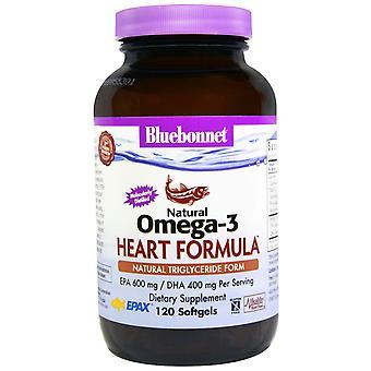 Bluebonnet Nutrition, Natural Omega-3 Heart Formula, 120 Softgels