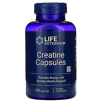 Extensión de vida, Cápsulas de creatina, 120 Cápsulas