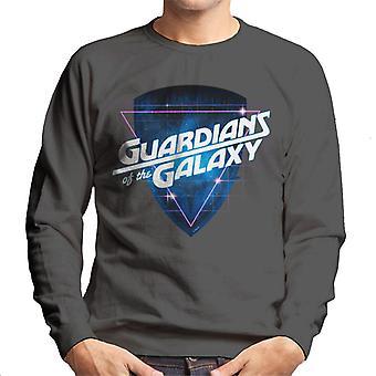 Marvel Guardians Of The Galaxy Retro Wave Logo Men's Sweatshirt