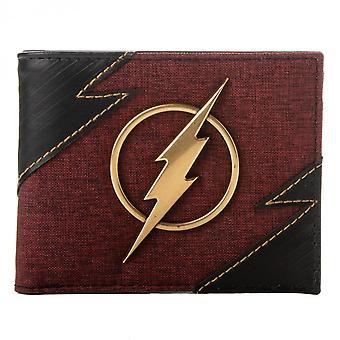 The Flash Metal Badge Bifold Wallet