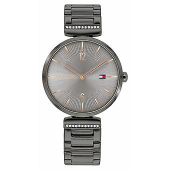 Tommy Hilfiger | Women's | Aria | Gunmetal Grey Steel Armband | Grijstoets | 1782276 Horloge