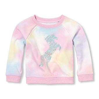 The Children's Place Baby Girls Long Sleeve Graphic Novelty Sweatshirt, Simpl...