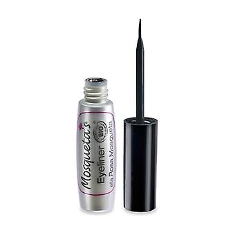 Black eye liner with rosehip oil 5 ml (Black)