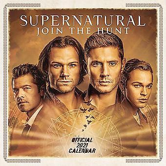 Supernatural Calendar 2021 Official Calendar 2021, 12 months, original English version.