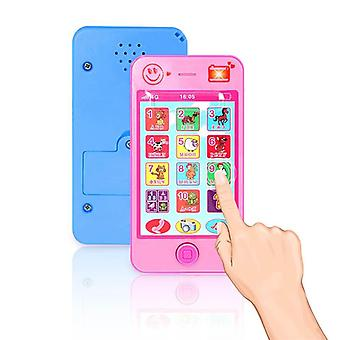 Russian Kids Toy Phone - Early Education Simulation, Music Mobile Phone
